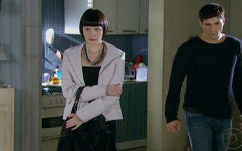 Passione - capítulo de quinta feira, dia 09/09/2010, na íntegra - Melina diz para Fred que tem uma proposta para ele.