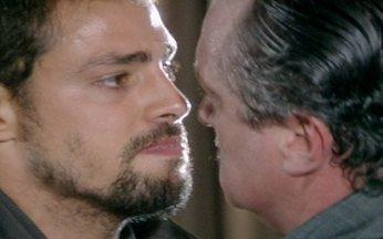 Passione - capítulo de quinta feira, dia 16/09/2010, na íntegra - Danilo briga com Saulo e revela as mágoas que tem do pai