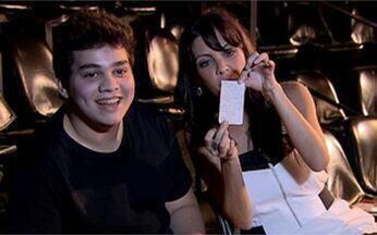 Daniel Belmonte e Thalita Rebouças no Fala Sério, Vídeo Show - O jovem comediante é a prova de que talento pra comédia não tem idade