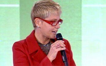 Você Viu? André Marques participa do programa TV Xuxa - Apresentador do Vídeo Show ganhou competição contra a atriz Susana Vieira