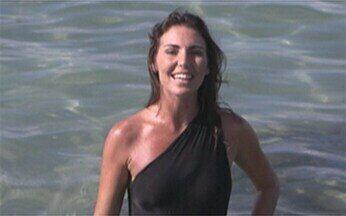Glenda Kozlowski acompanha trabalho de pesquisadores na Costa dos Corais - Profissionais cuidam do peixe-boi marinho, animal ameaçado de extinção