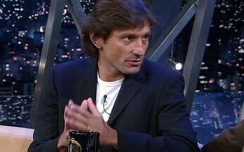 Ex-jogador Leonardo também é manager de futebol e comentarista - Ele também fala da carreira e de seu site pessoal e profissional na Globo.com.