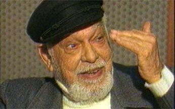 Túnel do Tempo recorda Globo Repórter sobre Paulo Gracindo - Programa sobre o ator foi ao ar em 15 de julho de 1988