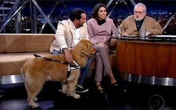 George Thomaz Harrison é o fundador do Instituto Cão Guia Brasil - Hoje, existem mais de 12.000 pessoas esperando para receber um cão desses.