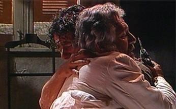 Cenas Inesquecíveis relembra momento da novela Renascer - Confira a reconciliação entre José Inocêncio e João Pedro