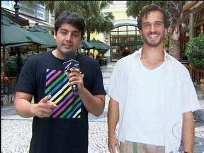 Bruno De Luca vai às ruas para ajudar a encontrar um novo amor para Guaracy - Em Fina Estampa, Griselda não está nem aí para ele
