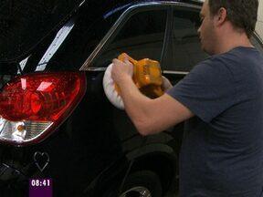 Polimento, enceramento e cristalização: veja como deixar seu carro brilhando - Mais Você dá dicas para os apaixonados pelos automóveis