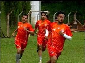 Uberaba volta a treinar depois da derrota na estreia do Mineiro - Time agora quer pontuar na segunda rodada, contra o Villa Nova