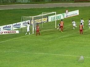 Confira os gols da partida entre Vitória da Conquista e Juazeirense - Os donos da casa venceram por 4 a 0 o time de Juazeiro pela 5ª rodada do Campeonato Baiano 2012.