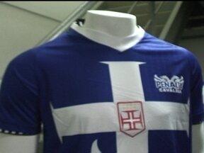 Vasco lança nova terceira camisa para temporada 2012 - Predominantemente azul, novo uniforme será usado pela primeira vez na próxima rodada do Carioca.