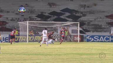 Santa Cruz e Central ficam no zero no Arruda - Times não fizeram um bom jogo e a partida terminou sem gols