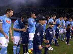 Napoli vira sobre o Chelsea e Real Madrid fica no empate pela Champions - Times italianos foram as surpresas da primeira rodada das oitavas.