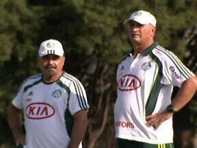 Palmeiras vai com força máxima contra o Botafogo pelo Paulistão - Mas Felipão ainda não entregou o time.