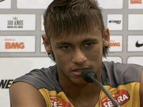 Neymar diz que Messi é incomparável, mas se inspira no craque - O craque ganhará folga contra o Mogi Mirim.