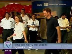 Mais Você mostra a visita do príncipe Harry ao Rio de Janeiro - Pela primeira vez no Brasil, o príncipe esbanjou simpatia