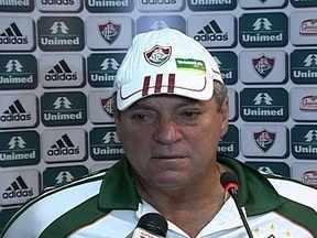 Abel Braga não revela grupo que vai enfrentar o Macaé pelo Carioca - Técnico afirmou que Edinho não vai defender o Tricolor, mas não deu detalhes sobre o time titular.