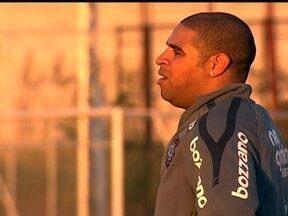 Comentaristas e treinadores apontam motivos da saída de Adriano do Corinthians - Problemas extra-campo e a falta de preparação física são os principais assuntos repercutidos.