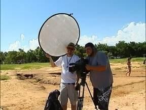 Confira o clipe final do Revista de Sábado - Confira os erros de gravação e gafes da equipe do Revista na cidade de Avaré