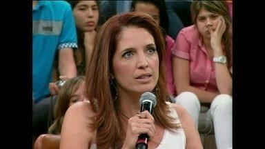 Poliana Abritta fala sobre experiência no Globo Mar - Jornalista diz que o mar a recebeu muito bem