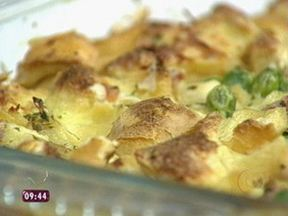 Receita: Pudim de Pão Salgado - Ana Maria Braga ensina receita de Pudim de Pão Salgado no Mais Você