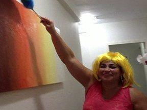 """Vídeo de Rosângela da Silva para concurso """"A empregada mais cheia de charme do Brasil"""" - Vídeo de Rosângela da Silva, do Rio de Janeiro, para o concurso """"A empregada mais cheia de charme do Brasil"""", do Fantástico."""