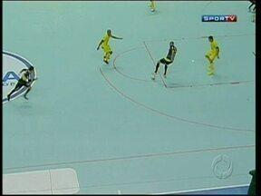 Marechal Rondon estreia com derrota na segunda fase da Liga Futsal - Jogando em Santa Catarina, time paranaense não resistiu ao Jaraguá