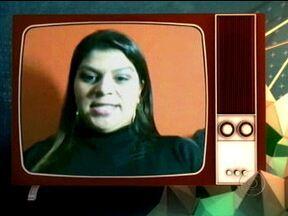 Thiaguinho conversa com fã no 15 Segundos de Fama - Patrícia conta que conheceu o cantor após um jogo de futebol de artistas