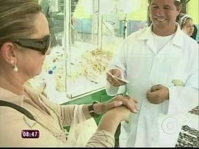 Empreendedor: pipoqueiro tem até cartão fidelidade para os clientes - Ana Maria Braga mostra o pipoqueiro Valdir, que tem até cartão fidelidade para os clientes.