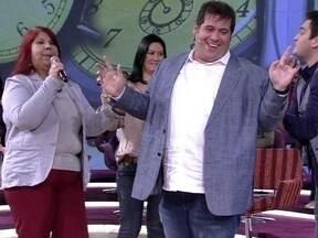 Leandro Hassum e Marcos Veras fazem exercício de comédia no palco - Dupla segue a coordenada do professor João Brandão e diverte a platéia