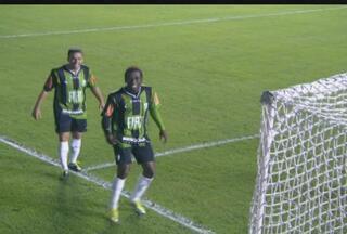 América-MG vence o Grêmio Barueri pela série B - Com a vitória por 1 a 0, time retomou a liderança na competição.
