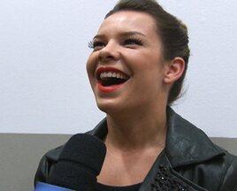 Bastidores - Fernanda Souza fala sobre sua barriguinha tanquinho - Bastidores - Fernanda Souza fala sobre sua barriguinha tanquinho