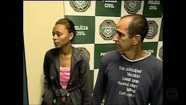 Em Saquarema, Silvana Ramiro fala dos suspeitos mandantes do seqüestro - Repórter conta que suspeitos podem ter cometido o crime por causa de uma herança