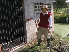 Furtos em propriedades rurais estão crescendo em Biritiba Mirim (SP) - Os furtos em propriedades rurais estão crescendo em Biritiba Mirim, no cinturão verde de São Paulo. Os ladrões levam principalmente motores e equipamentos de irrigação.