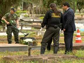 PF assassinado em cemitério de Brasília recebeu ameaças - O policial tinha dado queixa de ameaça à Corregedoria da Corporação. Os investigadores descartam a hipótese inicial de roubo seguido de morte e trabalham com hipótese de execução.
