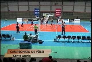 Termina o primeiro turno do campeonato estadual de vôlei feminino - Associação Vôlei Futuro foi derrotada no fim de semana