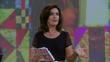 Convidados e Fátima Bernardes sobre suas manias - Fátima Bernardes conta que tem mania de fazer listas e anotar tudo em um caderninho