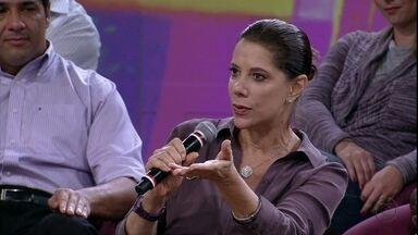 Ângela Vieira conta que tem vontade de voltar a ser bailarina - Atriz diz que a dança a ajudou a ter disciplina