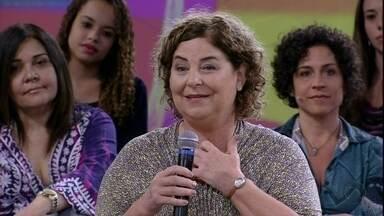 Assim como personagem Moema, de A Vida da Gente, convidada realizou o sonho - Ex-faxineira se tornou pedagoga