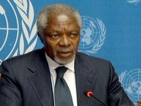 Kofi Annan não vai mais mediar o acordo de paz na Síria - O ex-secretário geral da ONU, Kofi Annan, disse que Bashar Al-Assad deveria deixar o cargo. Ele pediu pressão da Arábia Saudita, Turquia e outros países sobre os rebeldes para que eles aceitem uma transição política.