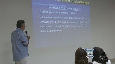 TV Amazonas dá inicio à cobertura jornalísticas das eleições 2012 - A partir desta segunda-feira, 6 de agosto, começa a divulgação das agendas dos candidatos