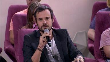 Paulo Vilhena conta que não se liga em redes sociais - Ator conta que prefere viver no mundo físico