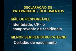 Programa Pai Presente estimula o reconhecimento de paternidade no Pará - Projeto do Tribunal de Justiça atende em Belém e no interior do estado.