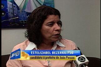 Estelizabel Bezerra participa de entrevista na Rádio Paraíba FM - Ela é candidata à prefeita de João Pessoa pelo PSB.