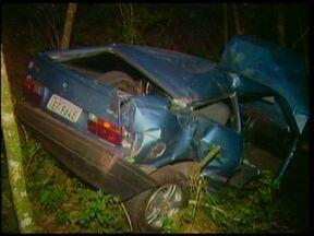 Acidente causa a morte de um jovem de 18 anos em Porto Mauá - Foi na RS 344