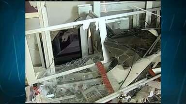 Caixa eletrônico é explodido no Triângulo Mineiro - Ataque aconteceu em uma agência bancária de Uberaba.