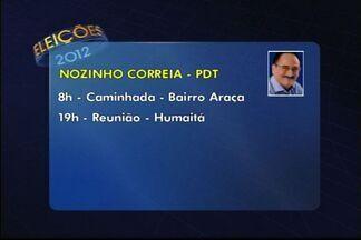 Veja a agenda dos candidatos a prefeito em Linhares, no ES - Agenda vale para esta quinta-feira (9).