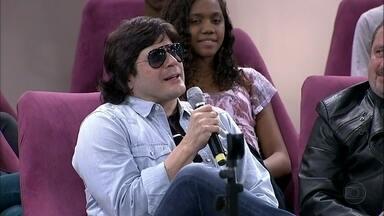 Paulo Ricardo conta o que mudou depois de ser pai - Cantor tem uma filha de 24 anos e uma bebê