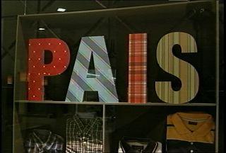As vendas de presentes para o dia dos pais - Comerciantes esperam que as vendas aumentem no fim de semana