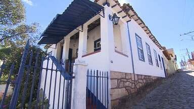 Terra de Minas mostra o resgate dos casarões de Itabirito - Para as festas da cidade, moradores resgatam essa tradição todos os anos.