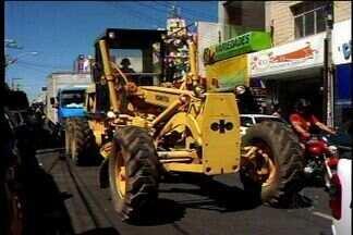 Veículo circula em local proibido em Juazeiro do Norte, no Ceará - O flagrante foi realizado neste sábado (11).